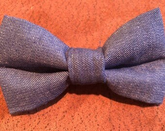 Kid's Denim Bow Tie
