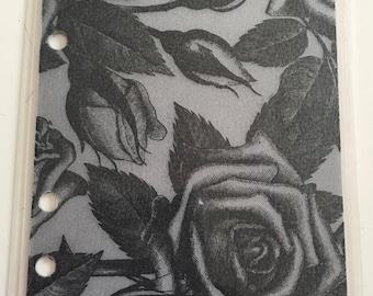Black and Grey Rose Dashboard