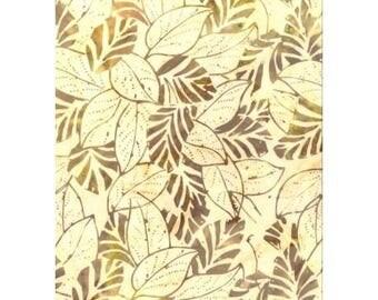 1169201 beige batik patchwork fabric