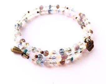 Pastel memory bracelet