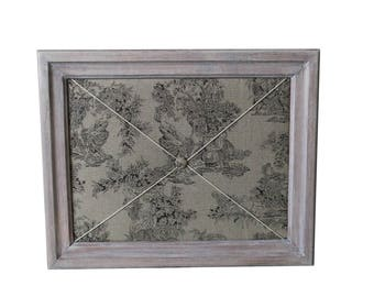 Louise limed and jouy handmade photo frame