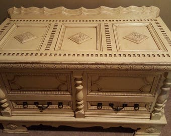 One of kind Antique Chest