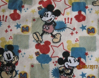 Mickey Mouse Flannel Blanket