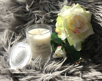AngelRox Candles - 150 grams 20+ hour burn time - Home made Soy Candles all Australian products used