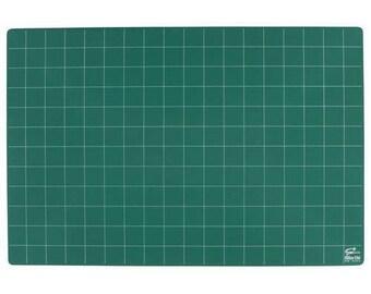 A3 Tapis de découpe haute qualitée / plaque de coupe  Auto cicatrisant verte mono face QUALITÉ PREMIUM