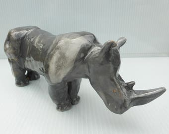 Ceramic Rhinoceros