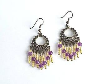 Fancy earrings print