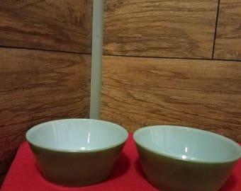 Fire King Bowls