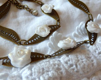 Choker necklace * chic antique *.