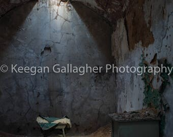 Eastern State Penitentiary- Loneliness of a Broken Chair