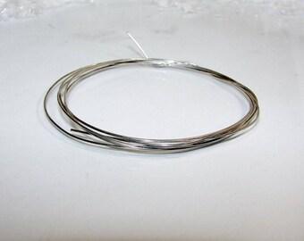 Silver 0.65 mm in diameter. Money first.