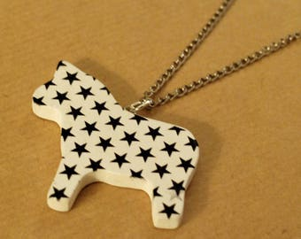 Necklace pony star