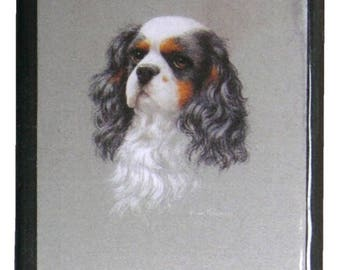 "The ""Cavalier King Charles"" MEZ deMEZERAC decorated box"