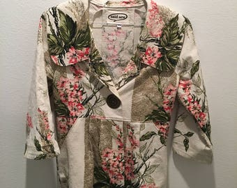 Lovely Jacket made with Vintage Fabric