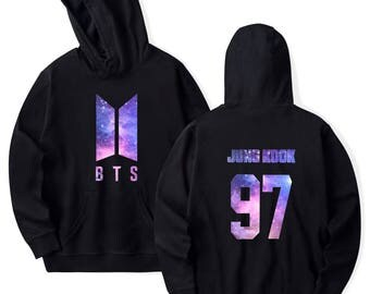 BTS Army Starry Night Logo Hoodie (4 colors available) Kpop