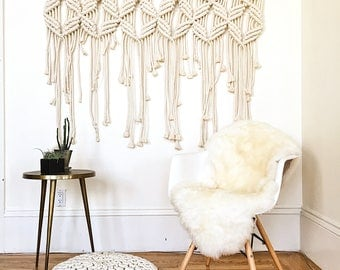 Boho Large Macrame Wall Hanging