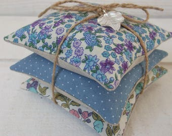 Set of 3 Lavender pads (number 12)