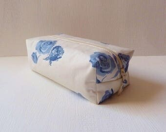 Makeup Delft blue cotton