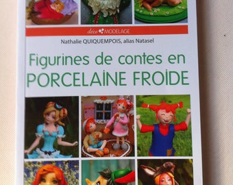 Book to create stories of cold porcelain figurines