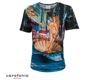 The birth of Venus - colorful, soft t-shirt