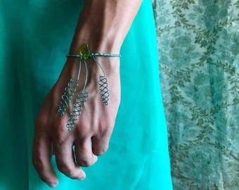Blue Hyacinth Bracelet
