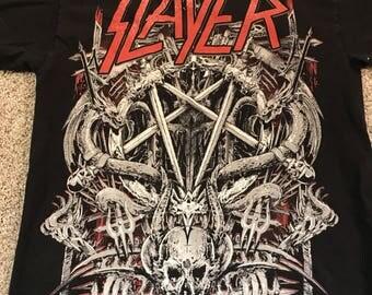 Slayer band tee