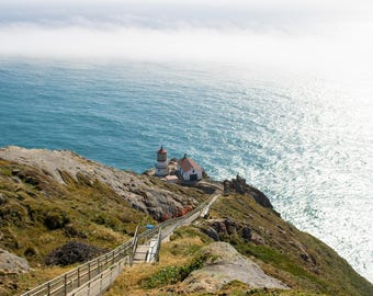 Point Reyes Lighthouse Embraced By The Fog