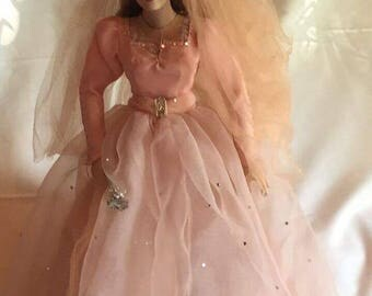 "Danbury Mint ""Fairy Godmother"" Porcelain Doll"