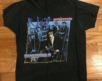 Vintage Neil young tee