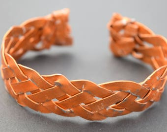 Copper Plaited Bracelet