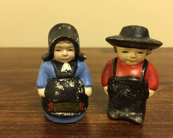 Vintage Amish salt and pepper set
