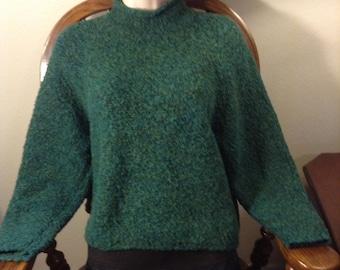 Warm Green Sweater