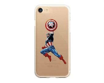 iphone 8 captain america case, iphone 7 plus captain america case, iphone 7 captain america,  iphone x captain case, iphone clear case