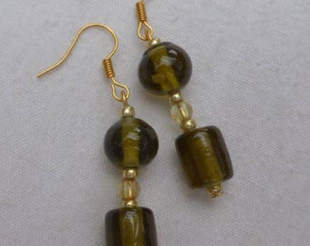 KHAKI CHIC earrings