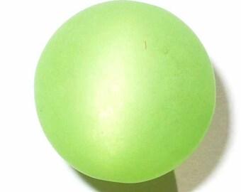 10 pearls polaris peridot Green 8mm 10 beads