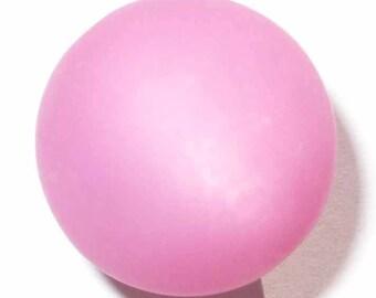 4 beads 14mm pink polaris 4 beads