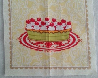 Fabric (fabric coupon) cut of 15 * 15cm