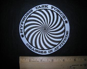 "Hypnotic Swirl 4"" Hypnosis Task Force Patch"