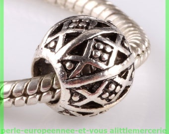 N604 European spacer bead for bracelet charms