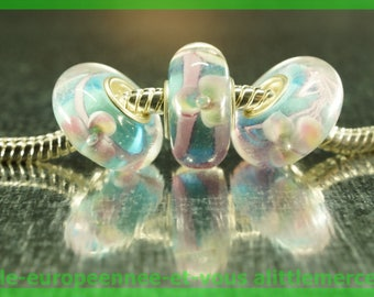 Has HQ524 European glass bead for bracelet necklace charms