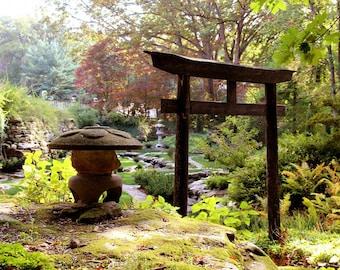 ORIGINAL design, durable and WASHABLE PLACEMAT - Zen - Garden Japanese 1 - Classic.