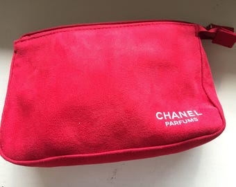 Chanel toiletry or cosmetic case