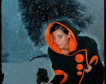 """""""Ilikain"""": pixie cape large hood"""