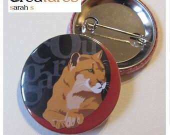 Badge humor 38mm puma cougar
