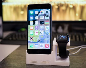 iPhone 6 Plus Dock w/ Integrated Watch Charging Station