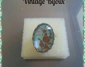 "bronze ring adjustable ""vintage/retro decor"""