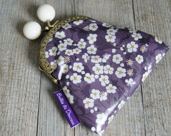 RETRO VINTAGE - LIBERTY PLUM WALLET