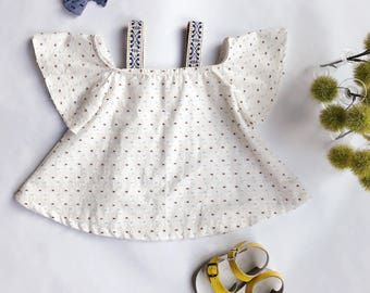 Charlotte - Dotted Swiss Swing Dress