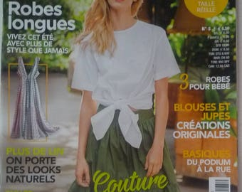 Magazine couture sewing current July 2017 (5) - sizes 40-58