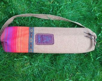 Yoga mat bag_Hadmade